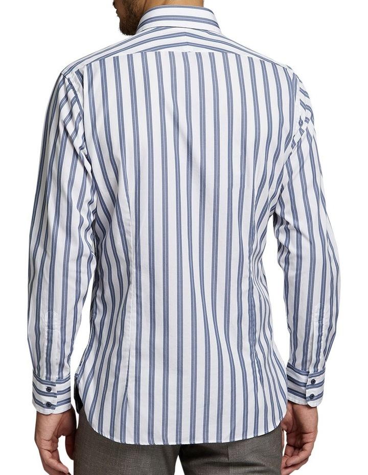 Marcel Double Stripe Shirt Grey/White image 2