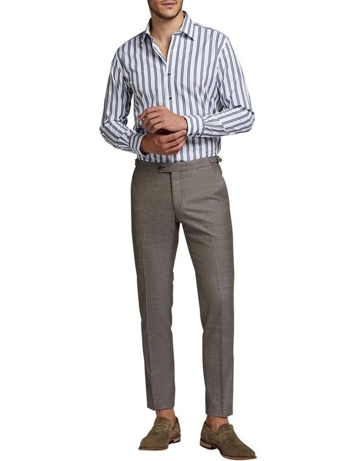 Marcel Double Stripe Shirt Grey/White image 3