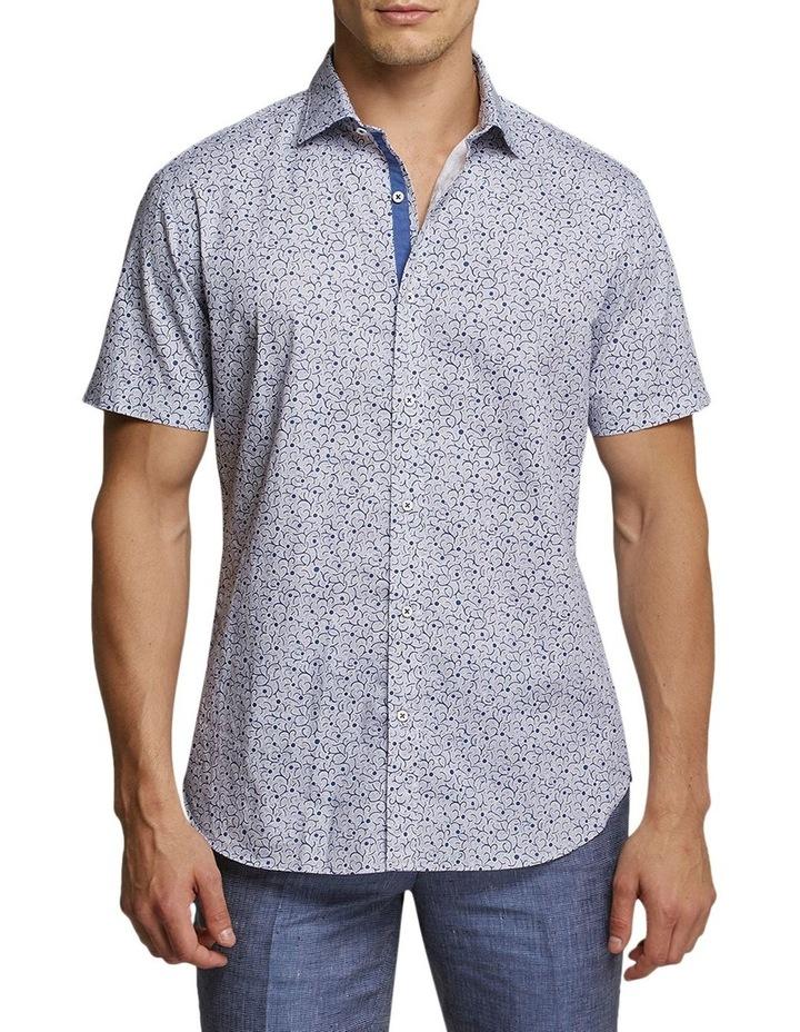 Brummell Print Shirt Denim image 1