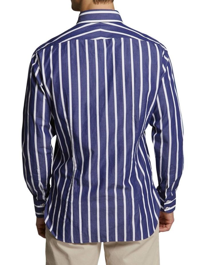 Snapperman Stripe Shirt Navy/White image 2