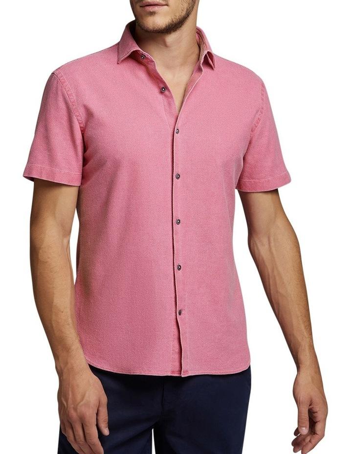 Caulido Short Sleeve Shirt Raspberry image 1