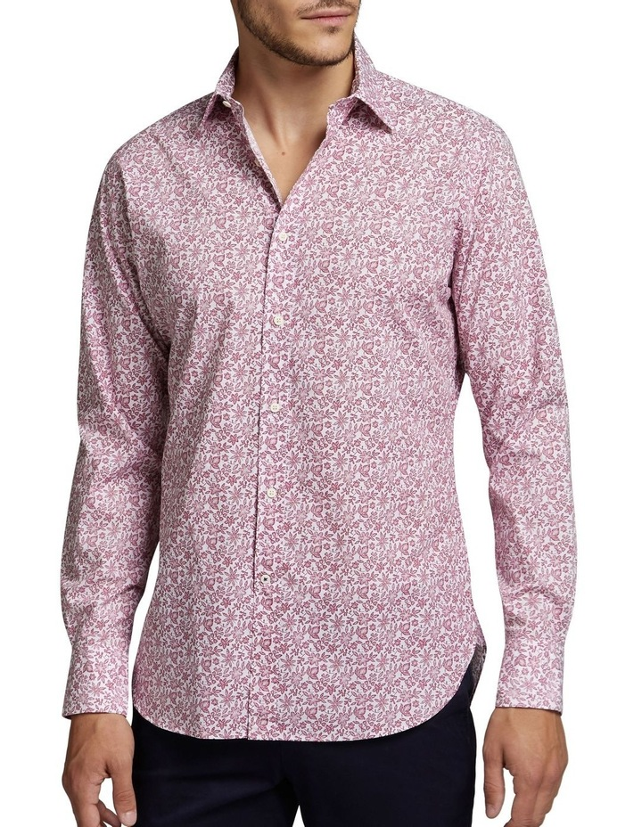 Tallow Shirt Raspberry/White image 1