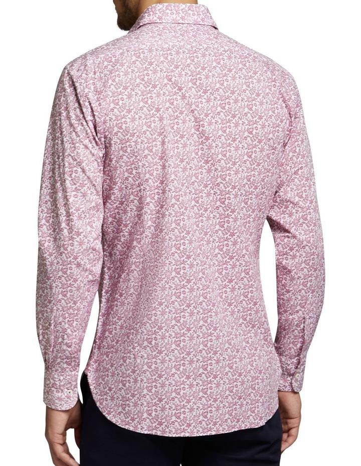 Tallow Shirt Raspberry/White image 2
