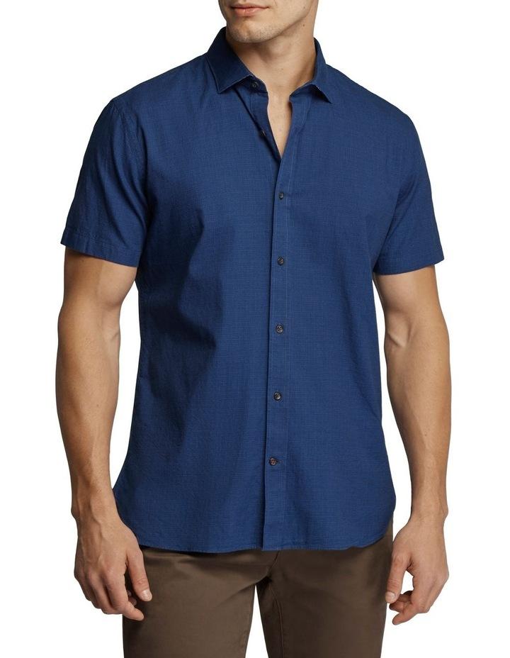 Grant Short Sleeve Shirt Navy image 1