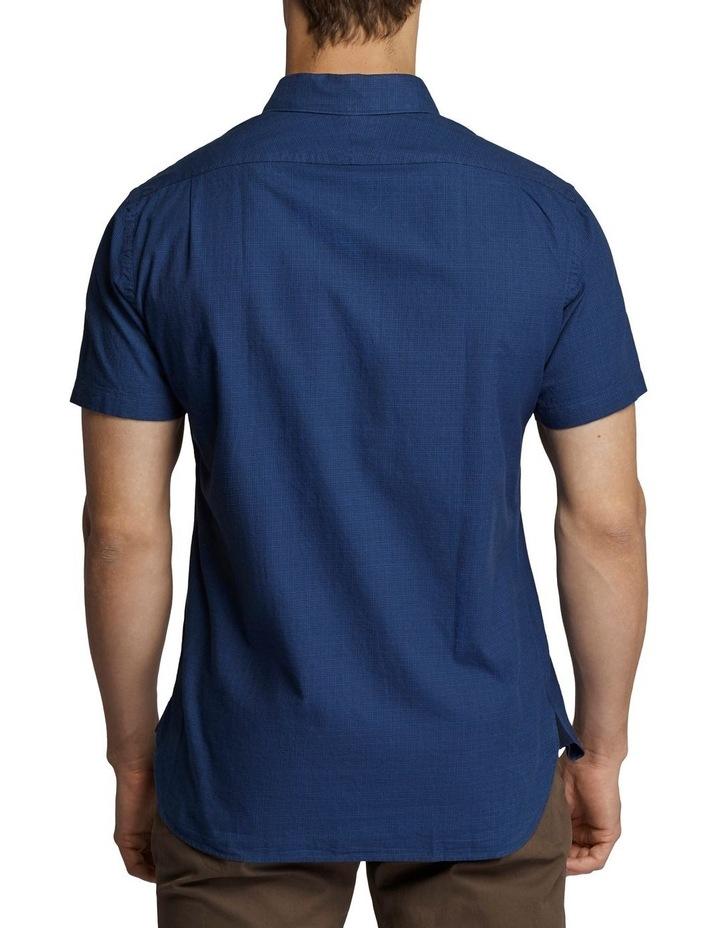 Grant Short Sleeve Shirt Navy image 2