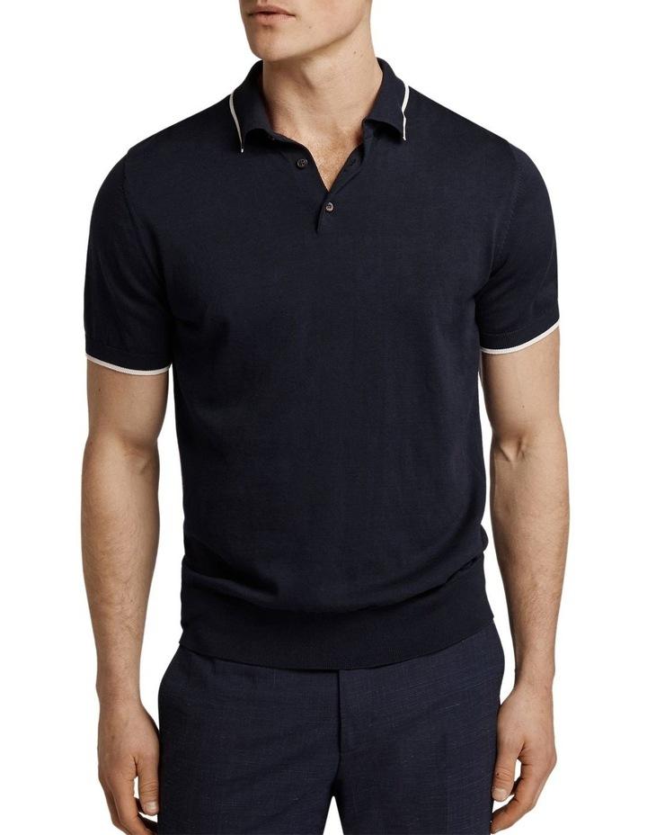 Menton Short Sleeve Polo image 1