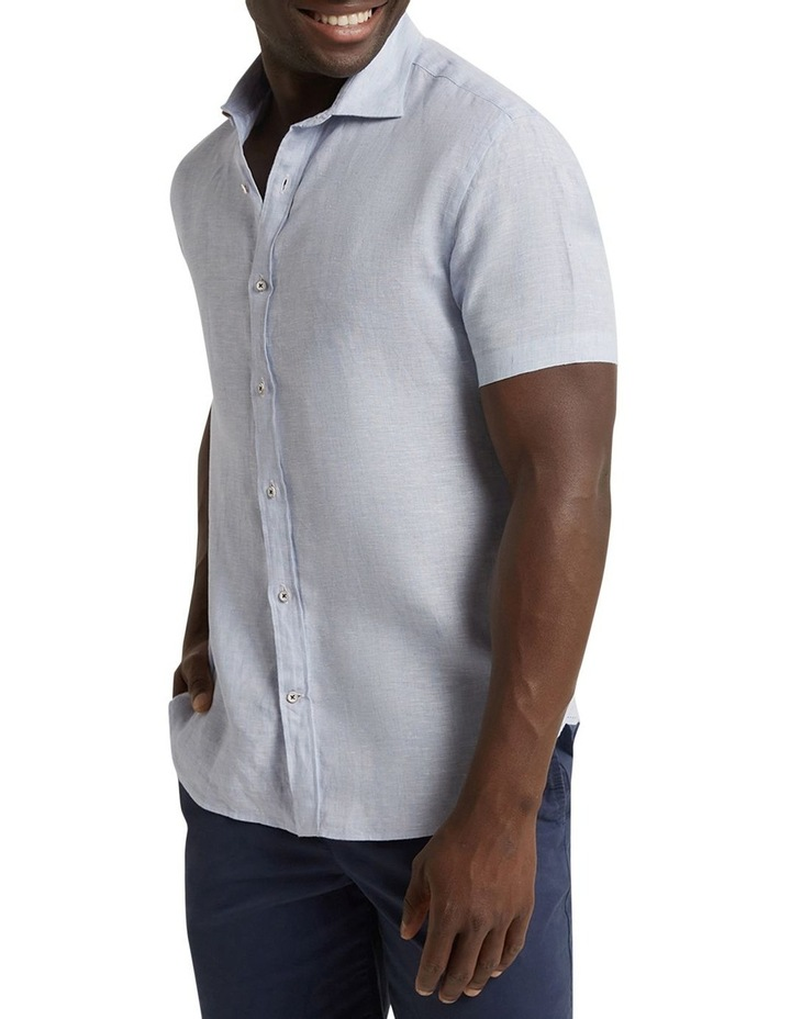 M.J. Bale Marbella Linen SS Shirt image 1
