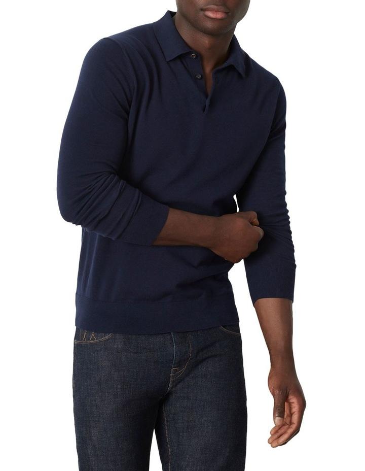 Flintoff Long Sleeve Polo image 1