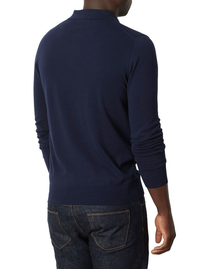 Flintoff Long Sleeve Polo image 2