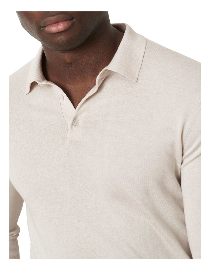 M.J. Bale Flintoff Long Sleeve Polo image 3