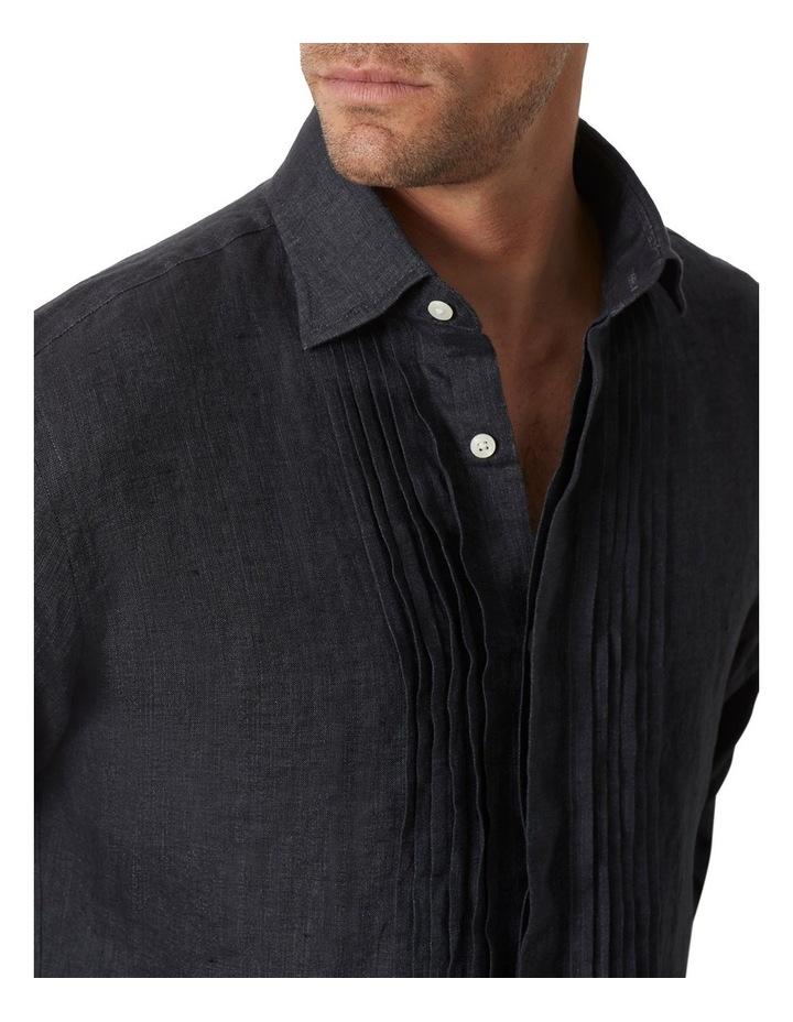 M.J. Bale Bradfield Tuxedo Linen Shirt image 2