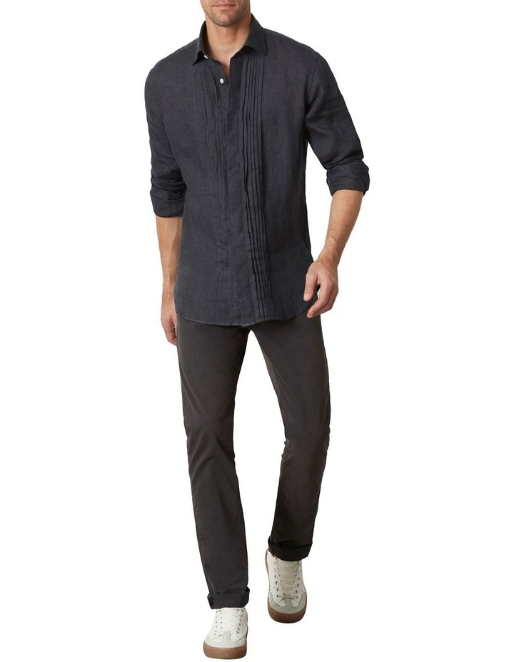 M.J. Bale Bradfield Tuxedo Linen Shirt image 3