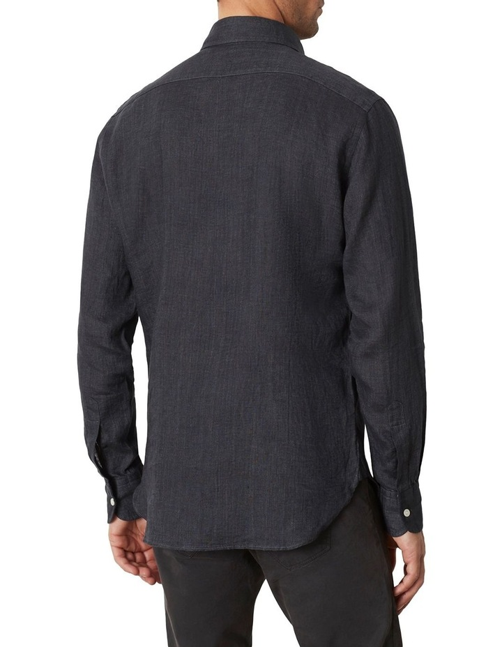 M.J. Bale Bradfield Tuxedo Linen Shirt image 4