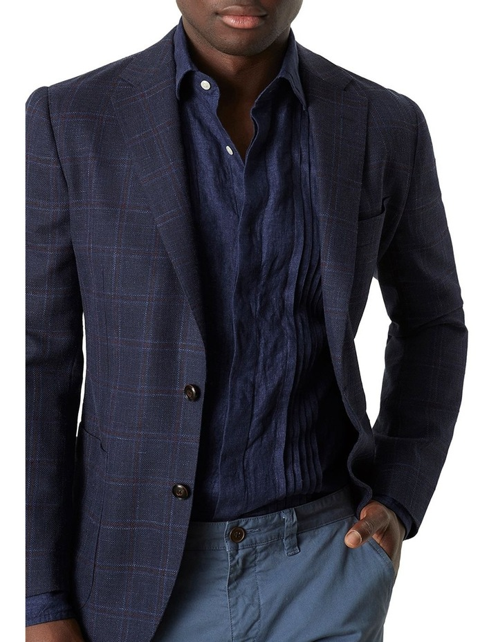 Bradfield Tuxedo Linen Shirt image 1