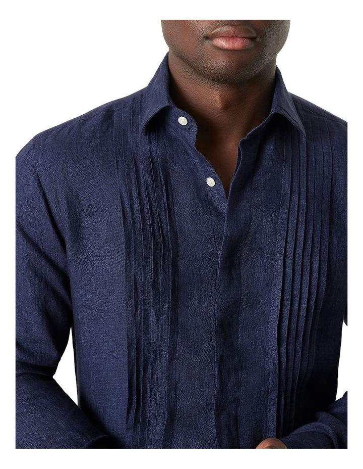 Bradfield Tuxedo Linen Shirt image 3
