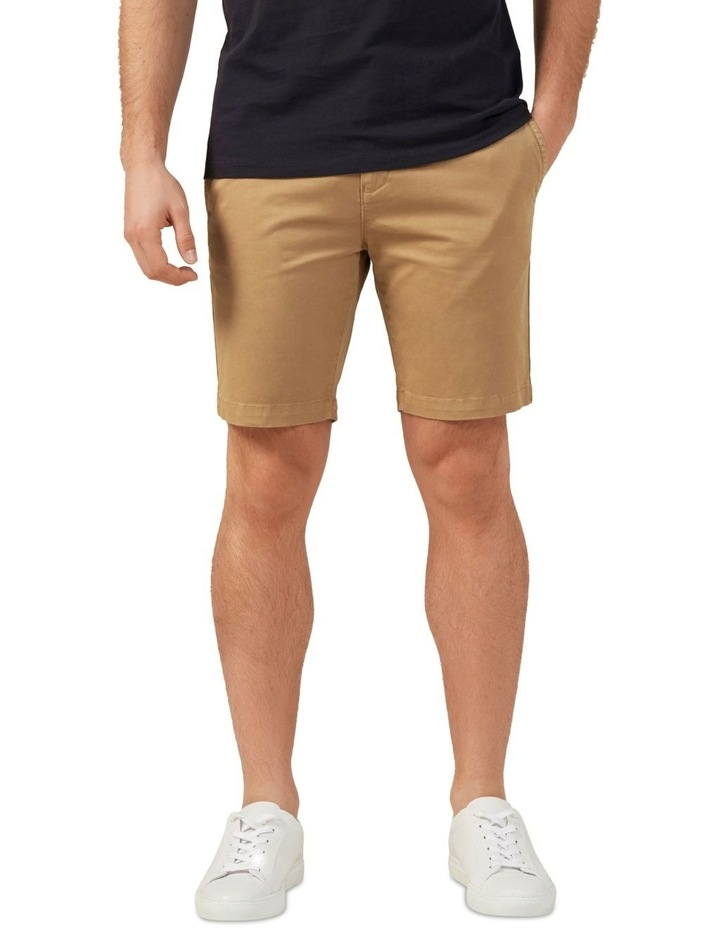 Slim Fit Stretch Chino Short image 1