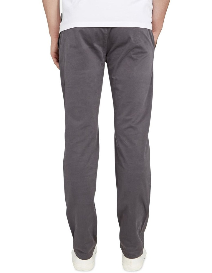 Regular Fit Stretch Chino Pant Charcoal image 3