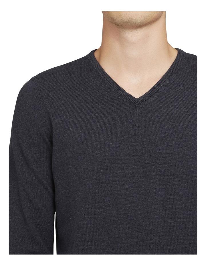 Cotton V Neck Knit image 4