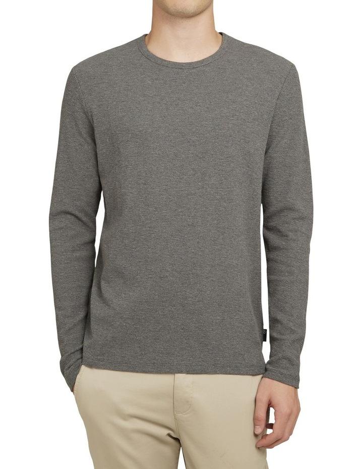 Waffle Long Sleeve T Shirt image 1