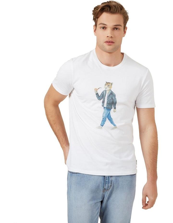 Hipster Cheetah T Shirt image 1