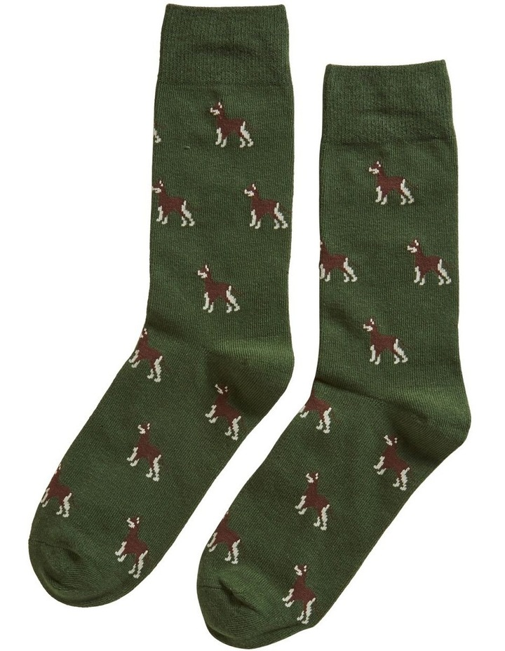 Dog 1 Pk Socks image 1