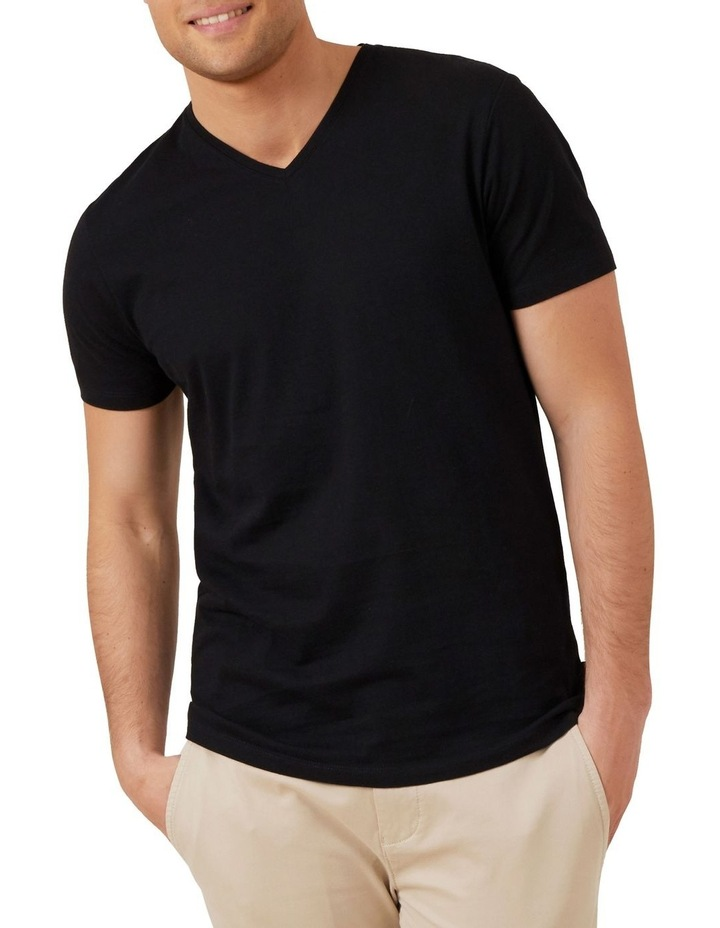 Classic V Neck T Shirt image 2