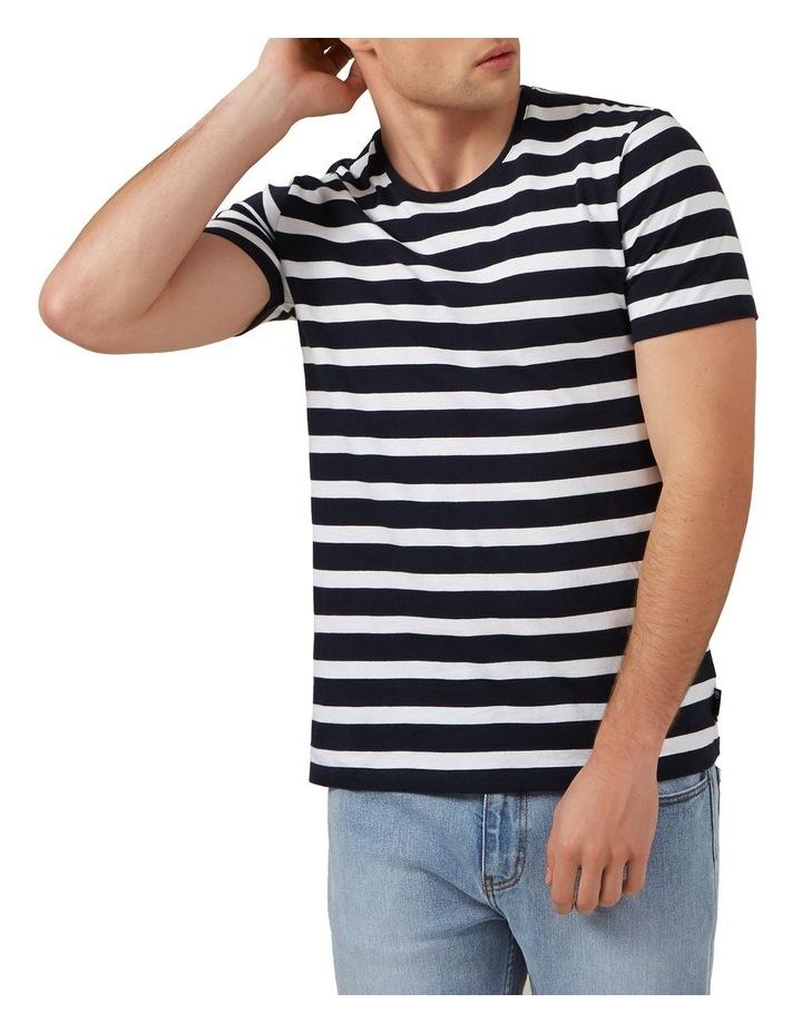 Classic Stripe Crew Neck Tee image 1