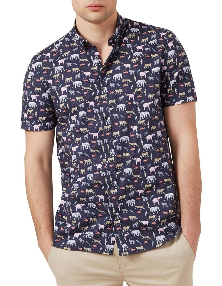 Exotic Animal S/S Classic Fit Shirt image 1