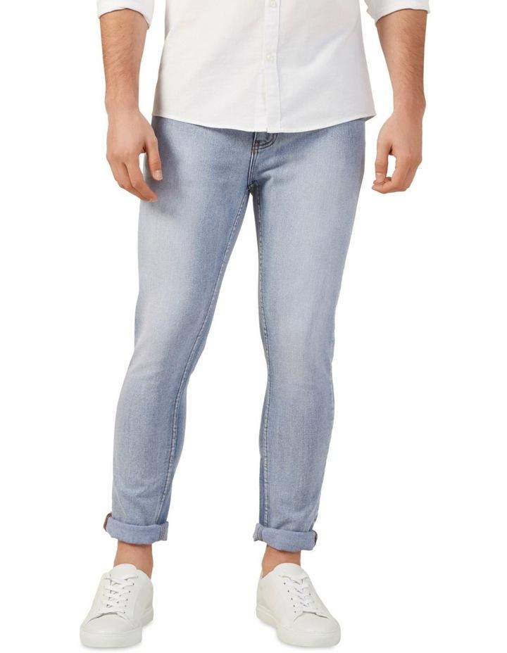 Light Wash Slim Stretch Jean image 1