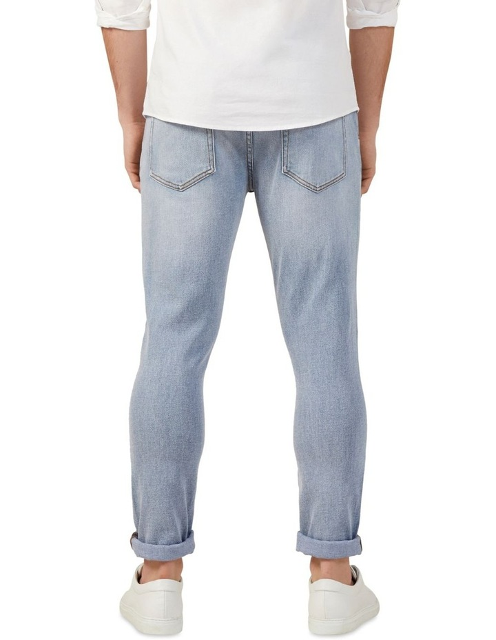 Light Wash Slim Stretch Jean image 3
