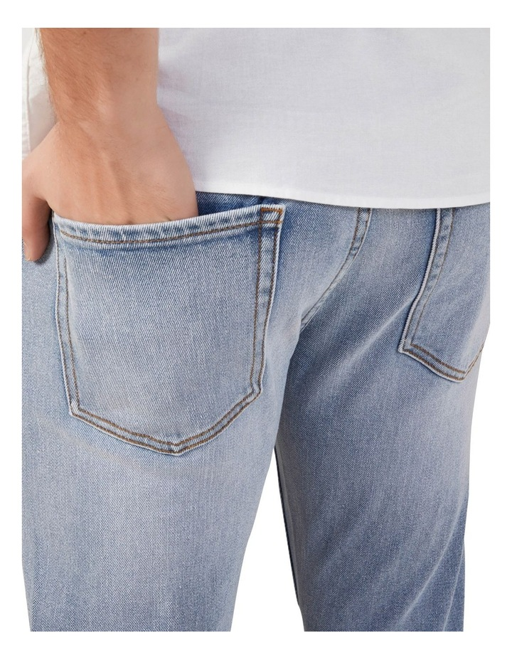 Light Wash Slim Stretch Jean image 4