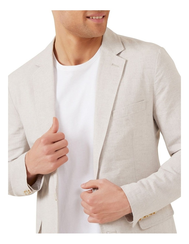 Linen Blend Blazer image 4