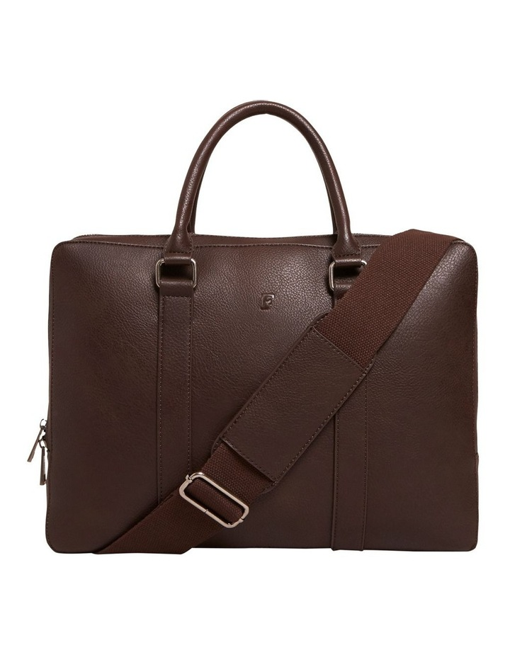 Leather Look Brief Case image 1
