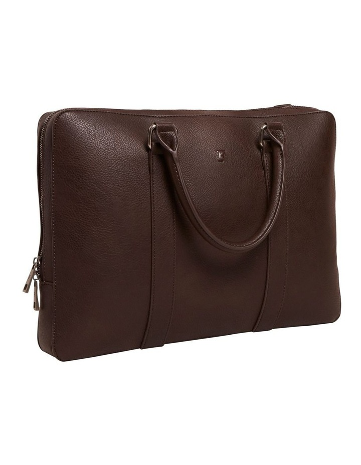 Leather Look Brief Case image 3