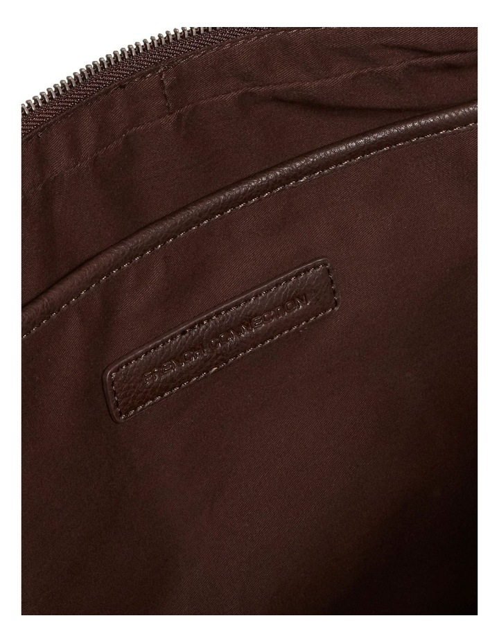 Leather Look Brief Case image 5