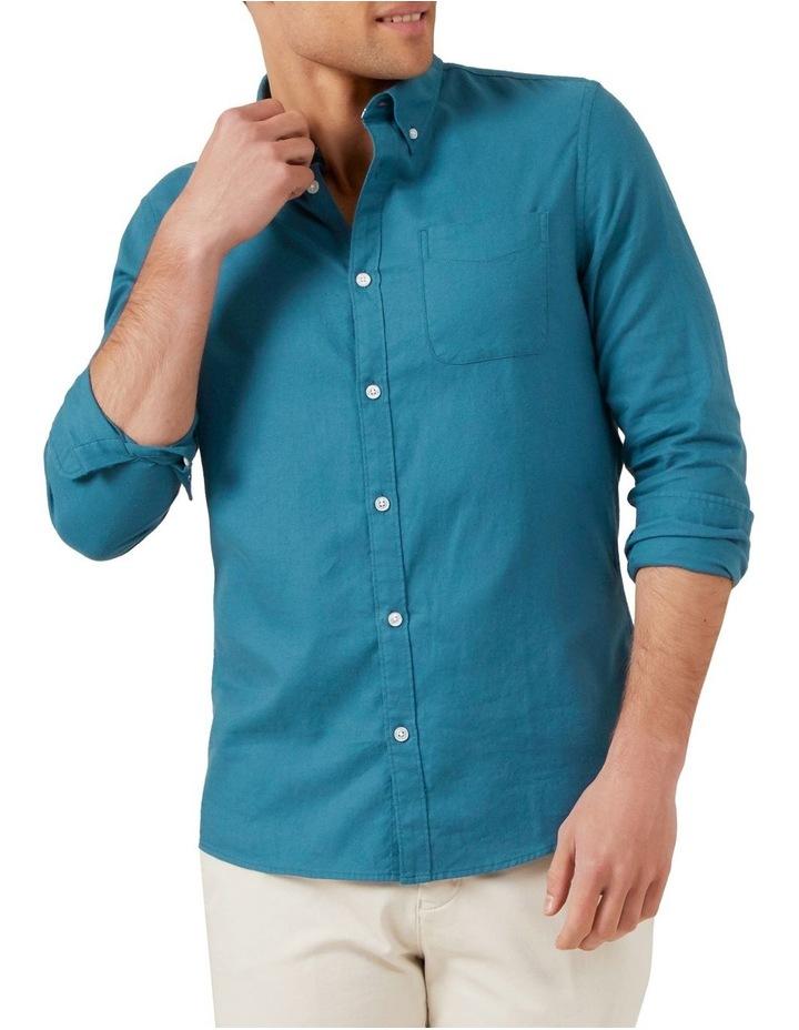 Ocean Blue L/S Custom Fit Shirt image 1