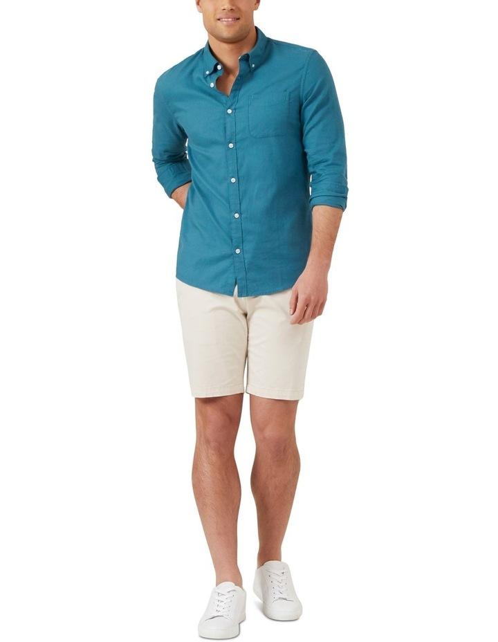 Ocean Blue L/S Custom Fit Shirt image 2