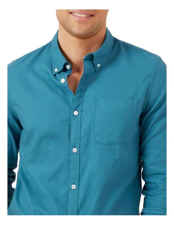 Ocean Blue L/S Custom Fit Shirt image 4