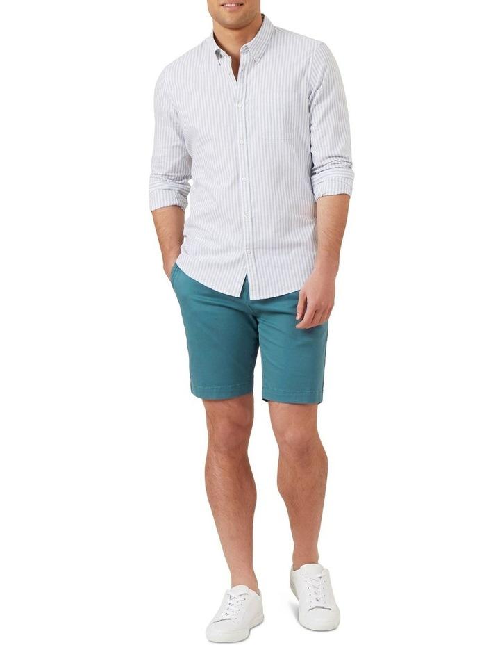Stripe Long Sleeve Custom Fit Shirt image 2