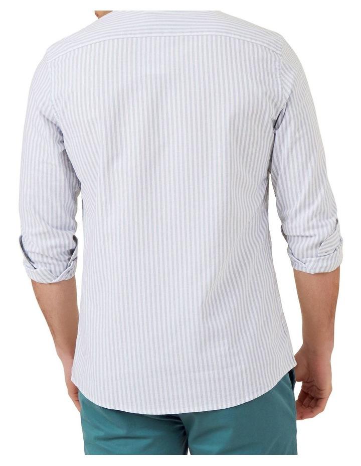 Stripe Long Sleeve Custom Fit Shirt image 3