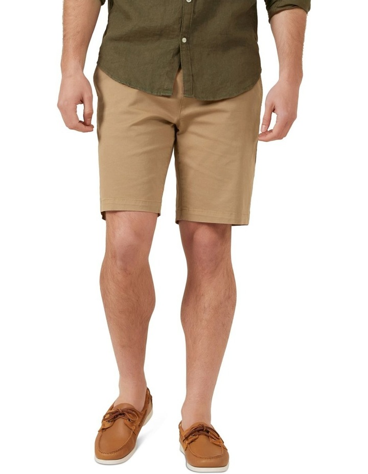 Relaxed Fit Stretch Chino Short image 1