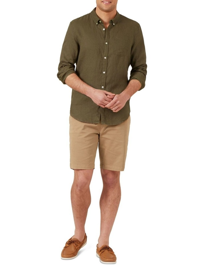 Relaxed Fit Stretch Chino Short image 2