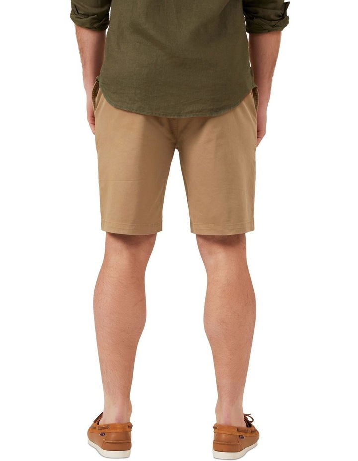 Relaxed Fit Stretch Chino Short image 3
