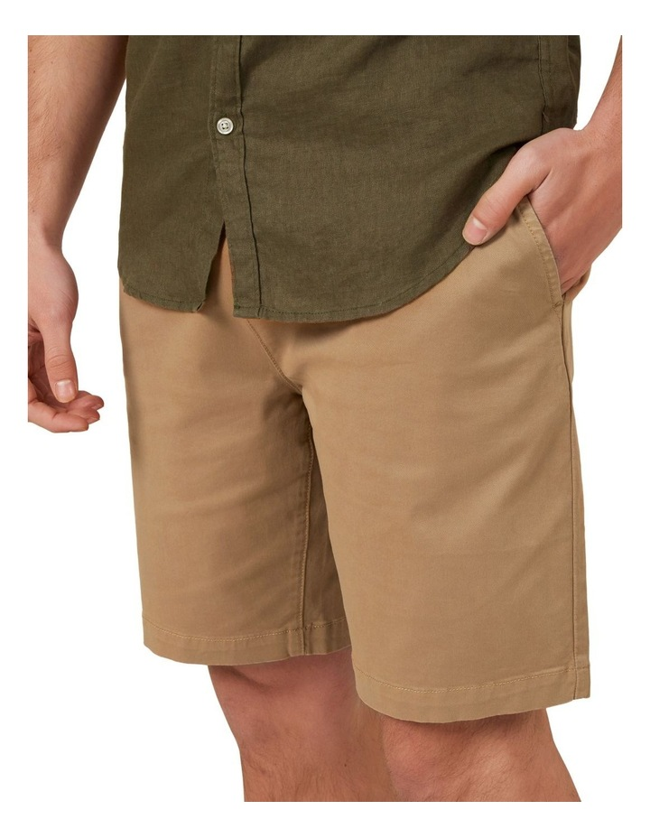Relaxed Fit Stretch Chino Short image 4