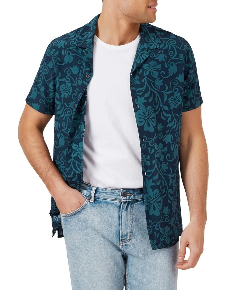 Beach Floral Camp Collar Shirt image 1