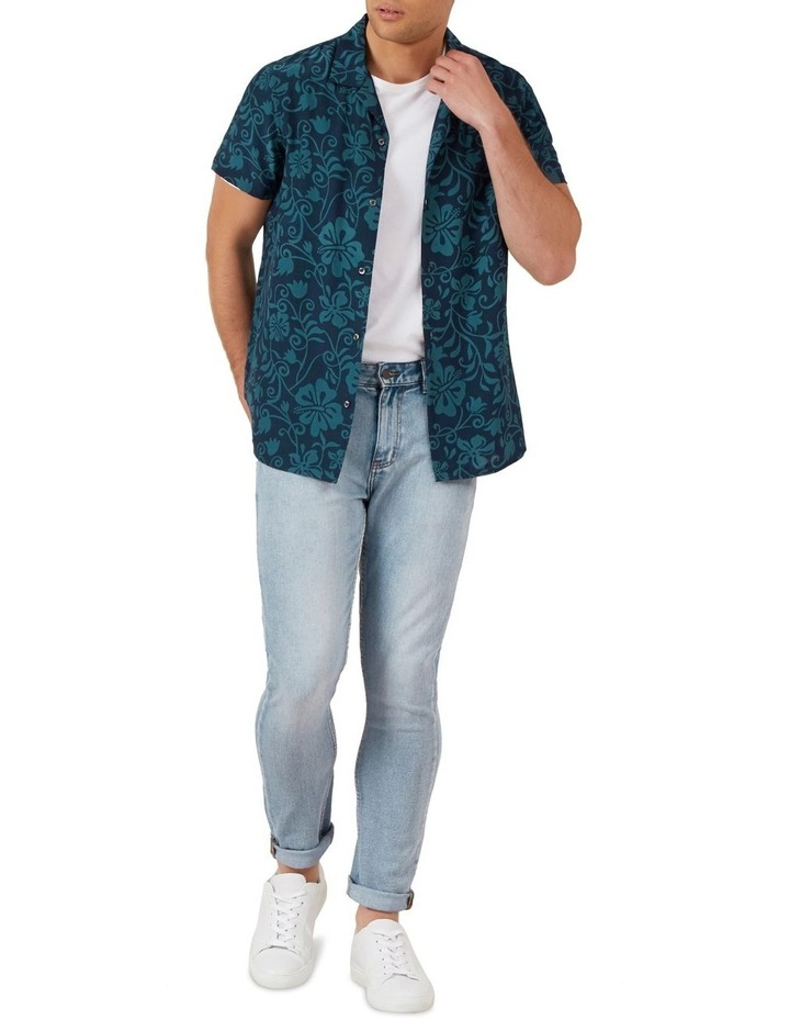 Beach Floral Camp Collar Shirt image 2