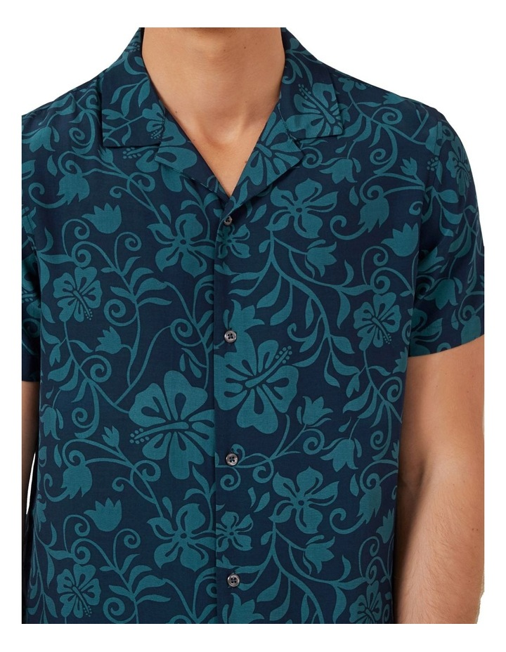 Beach Floral Camp Collar Shirt image 4