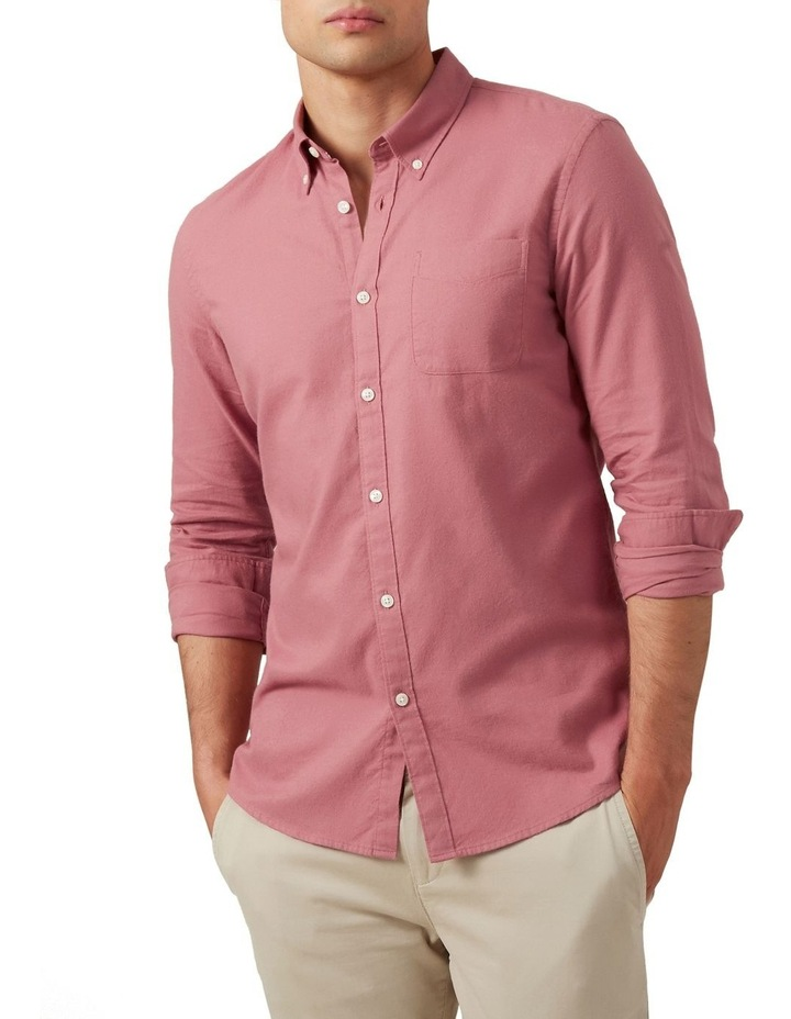 Washed Berry Custom Fit Shirt image 1