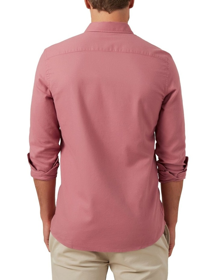 Washed Berry Custom Fit Shirt image 3
