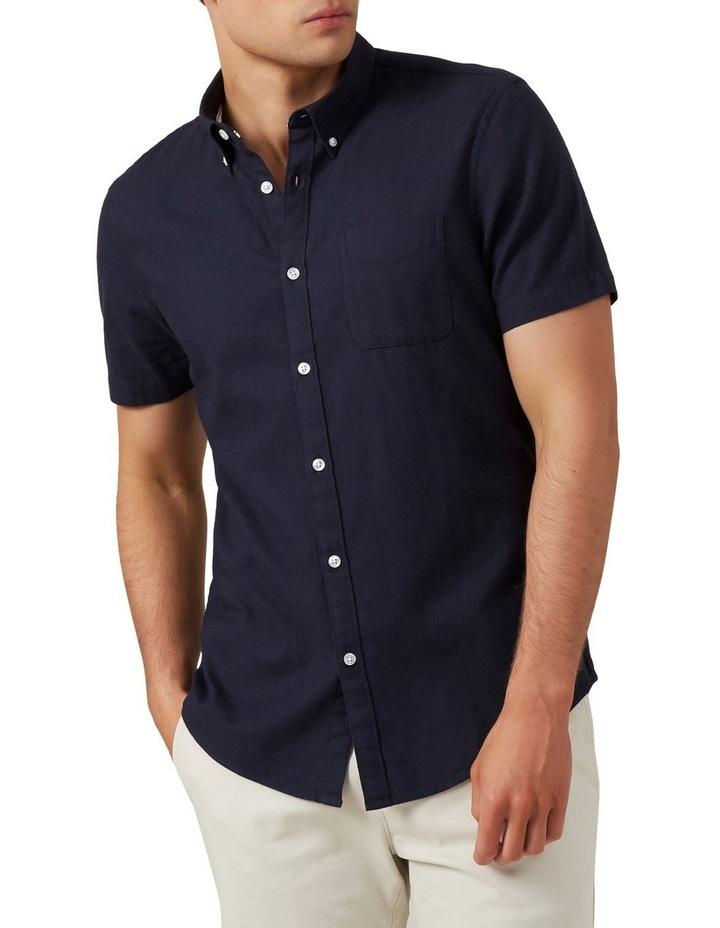 Oxford Short Sleeve Custom Fit Shirt image 1